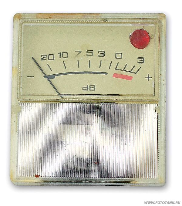 стрелочный индикатор с вклееным светодиодом