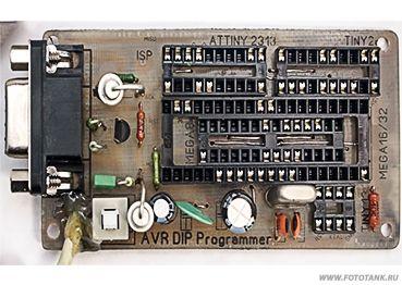Программатор AVR микроконтроллеров для СОМ порта
