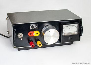 Лабораторный блок питания на LM2576-ADJ